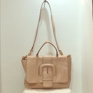 Rose Pink Leather Tote by Tod's